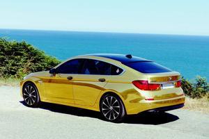 Un covoiturage plaqué or avec cette BMW Serie 5 Gran Turismo