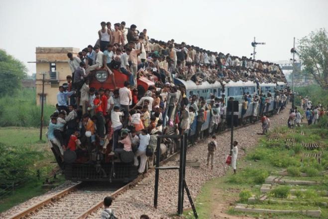 Les déplacements en train, un autre solution de mobilité mondiale.